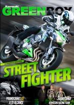Portada del número 45 de la revista Kawasaki Green Box